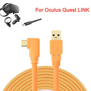 Usb3 0 Type C Third Party Data Line Charging Cable Wire For Oculus Quest Link Ebay