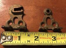 Antique Roller Shade Mounting Bracket Set Restoration Hardware Early 1900's