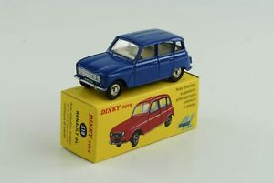 Renault-R4-4L-Bleu-Fonce-Ref-518-1-43-Dinky-Toys-Atlas