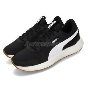 Details about Puma NRGY Neko Retro Wns Black White Gum Women Running Shoes  Sneakers 192617-02