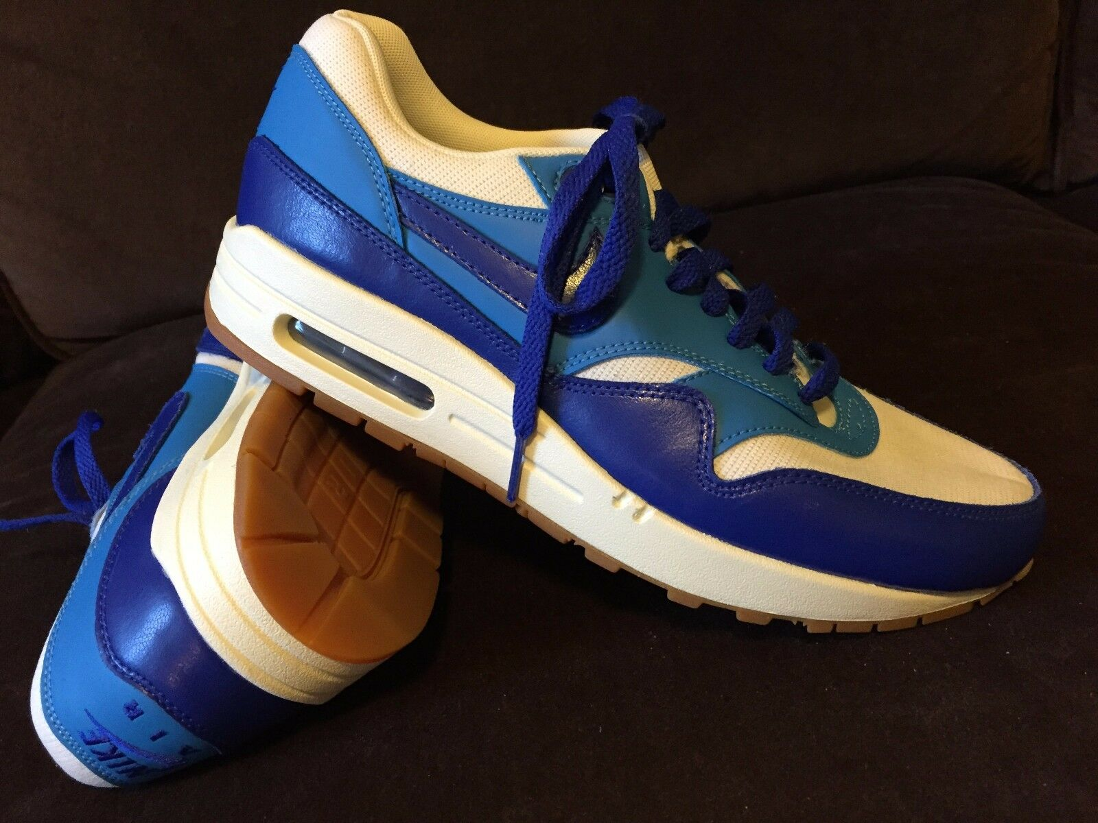RARE Nike Air Max 90, Mint condition, blanc Bleu, Navy femmes 8.5, 40 EUR
