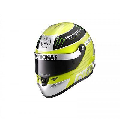 Original Nico Rosberg 1:2 Miniatur Helm / Helmet  Schuberth 2013 9083000222