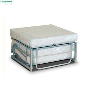 Platzsparende pouf mit kaltschaummatratze antiallergisch - Pouf ikea letto ...