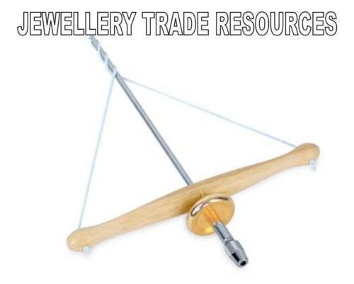 New Jewellers Jewellery Fine Pump Bow Drill String Driven 0.1mm-3mm bit capacity