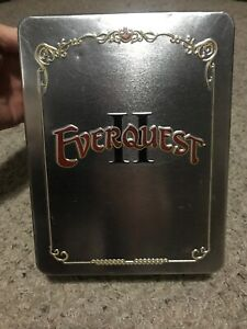 Details about EverQuest II: Collector's Edition PC Game COMPLETE IN TIN  Coin Cloth Map Books