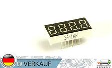 2Stück 7 Segment Anzeige mit 4 Stellen gemeinsamer Minus-Pol rot für Arduino DIY