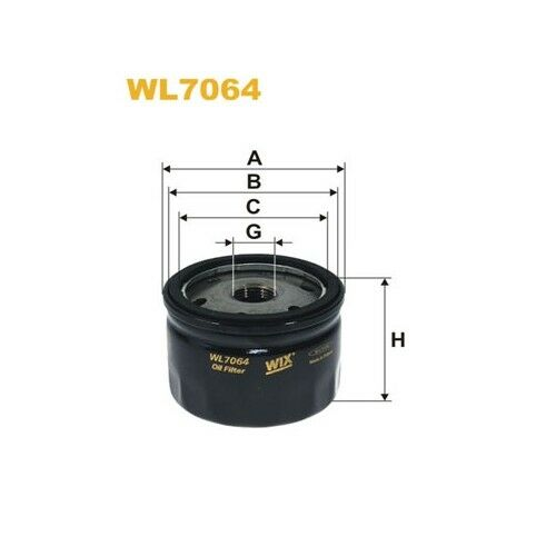 WIX ÖLFILTER RENAULT ALPINE MASERATI WL7064