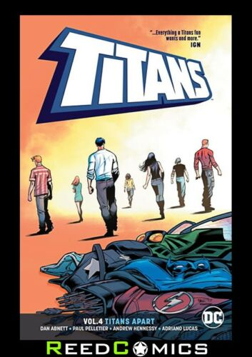 #19-22 and Annual #2 TITANS VOLUME 4 TITANS APART GRAPHIC NOVEL Collects 2016