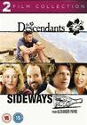The Descendants / Sideways (DVD, 2013, 2-Disc Set)