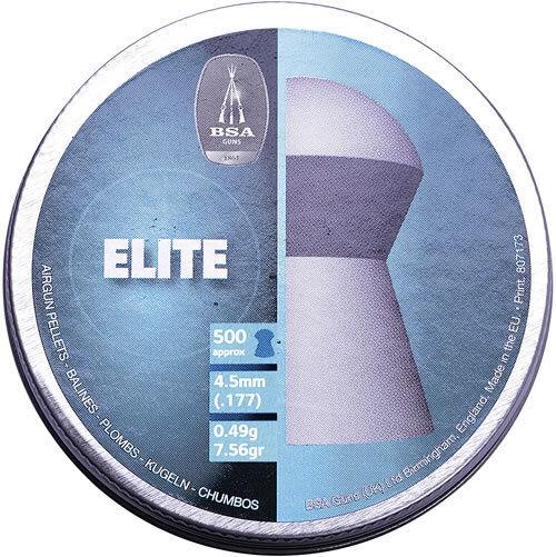 BSA - Elite Round Head .177 - Qty 50's 100's s 500's 1000's 2000's 5000's