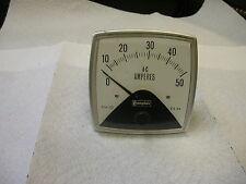 Compton 4535 Analog Panel Meter 0 50 Ac Amperes