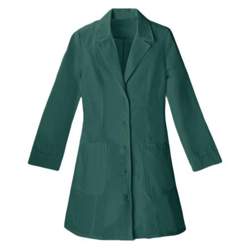 Panda Uniform Made to Order Women/'s 36-Inch Nursing Long Lab Coat FREE SHIPPING!