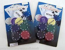 Pokerchips - Set 2 x 27 Stück