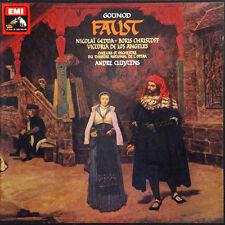 GOUNOD Faust Cluytens Gedda FR Press Pathé/Emi 2C 165-00395/8 1959 4 LP