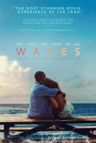 Waves The Stunning Movie 2019 Lucas Hedges Alexa Demie Poster Decoration 893