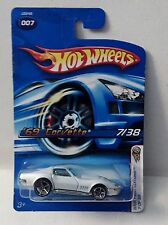 Hot Wheels 2006 FE 007 First Edition '69 Corvette White o5 KMART