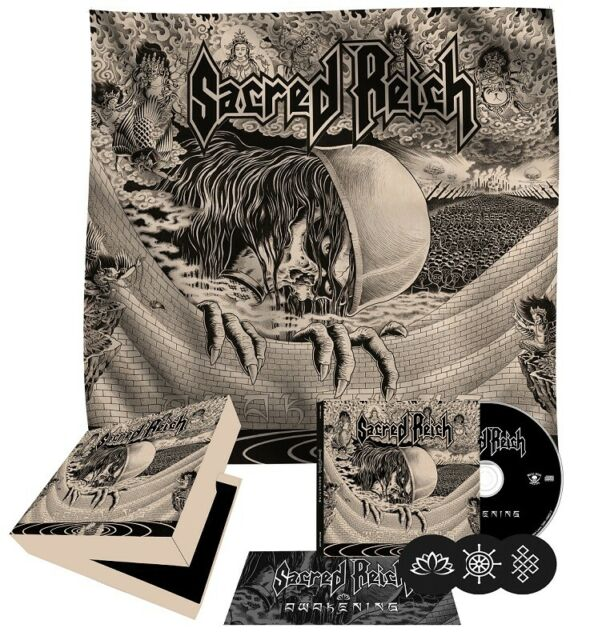 SACRED REICH- Awakening LIM. DELUXE CD BOX us thrash legend OVP/SEALED metal