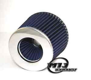 BLUE-Air-Filter-3-034-Aftermarket-Performance-Sports-Cone-Upgrade-60-65-70mm-Inlet