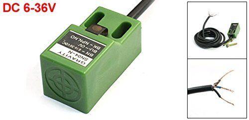 DC 6-36V NPN NO 4mm Distance Detector Proximity Sensor Switch SN04-N