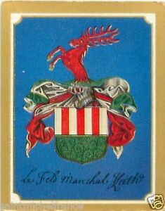 James-Francis-Edward-Keith-Prussia-Marshal-Armoiries-Coat-of-Arms-CHROMO-30s