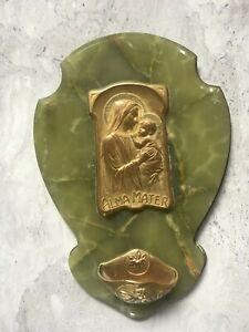Grand Bénitier Art Nouveau Signé Sur Onyx
