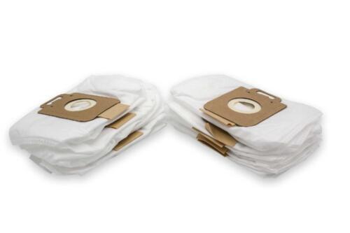 10x Staubsaugerbeutel Micro-Vlies für Nilfisk-Alto GM 400 Time