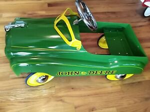 John-Deere-Pedal-Car-In-Excellent-Condition-Sold-As-Is-No-Returns-Or-Refunds