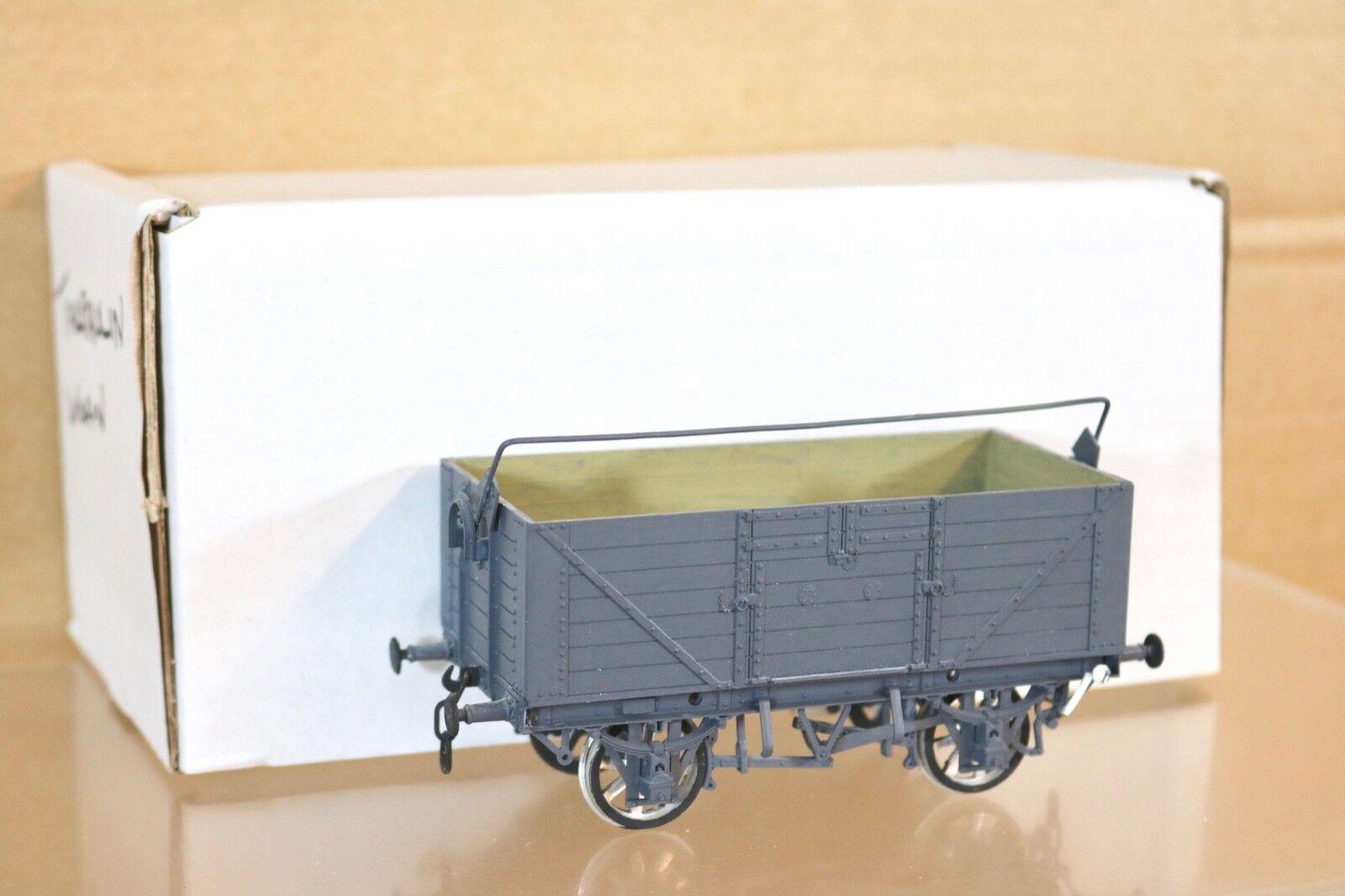 COOPER CRAFT O GAUGE GW GWR grigio TARPAULIN 7 PLANK WAGON scatolaED 07 nr