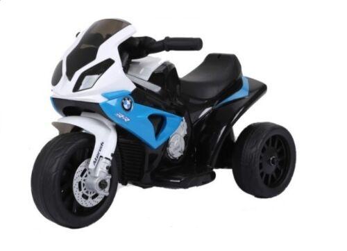 Kleines BMW S1000RR Elektromotorrad Kindermotorrad Kinderfahrzeug Lizenz blau