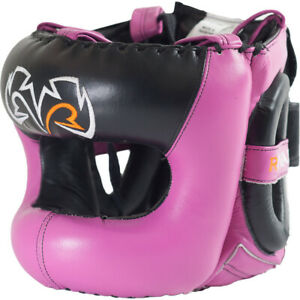 Rival Boxing Guerrero Facesaver Headgear - Pink