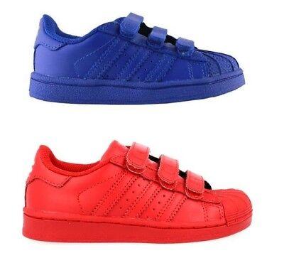 Junior Boys Shoes Adidas Superstar