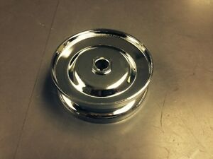 Chrome-Generator-Alternator-Pulley-VW-Bug-Air-Coooled-Volkswagen-1600cc