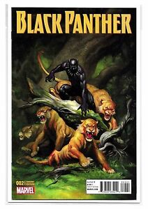 BLACK-PANTHER-2-Cover-D-Frank-Cho-Variant-Ltd-1-25-NM-Marvel-Comics