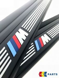 Nuevo-Original-BMW-E81-E82-2-puerta-M-Sport-alfeizar-de-la-tira-de-entrada-de-puerta-set-izquierda