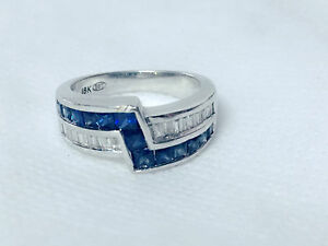 white-gold-ring-with-diamonds-and-sapphire-for-men