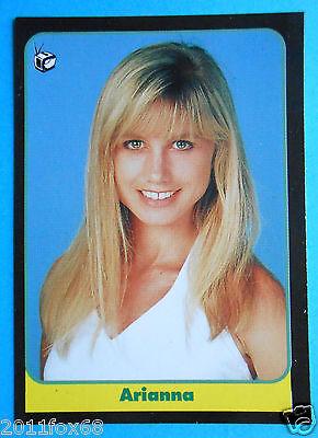 figurines cromos figurine masters cards 107 1993 arianna becchetti non è la rai