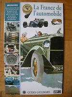 Livret Prime Publicitaire 1995 : Guide Gallimard & Elf : France De L'automobile