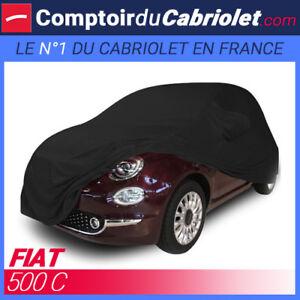 Housse-Coverlux-sur-mesure-en-Jersey-noire-pour-cabriolet-Fiat-500C