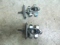 04 Suzuki SV650 SV 650 Swing Arm Swingarm Chain Adjusters
