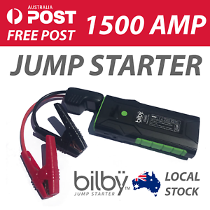 BILBY-1500A-AMP-Vehicle-Jump-Starter-USB-Power-Bank-Torch-CAR-SUV-4WD-AUS