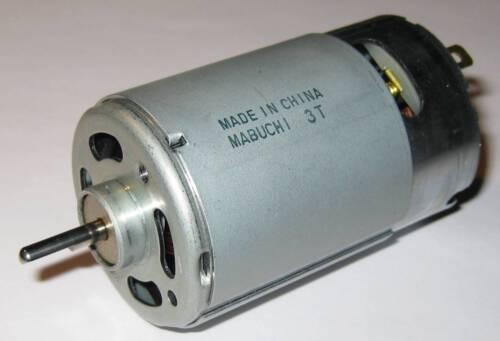 1V per 500RPM Wind // Water Turbine Generator 12V 10 X Mabuchi 555 DC Motor