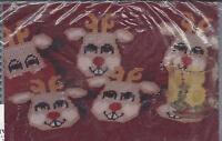 Reindeer Coasters Plastic Canvas Kit - Design Works