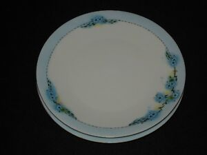 2-Hutschenreuther-Selb-Favorite-Bavaria-Blue-Forget-Me-Not-8-3-8-034-Plates