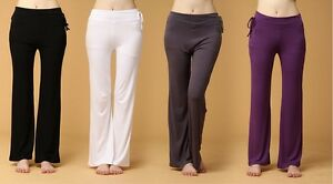 Fashion-Lady-039-s-Modal-Recreational-Sports-Fitness-Dance-Yoga-Clothes-Pants-C231