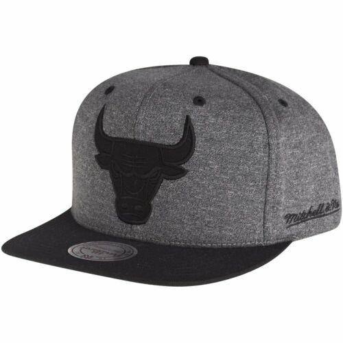 Mitchell /& Ness Snapback Cap HEATHER Chicago Bulls grau