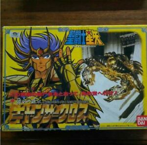 Vintage-1987-Gold-Cloth-Cancer-Deathmask-Bandai-Saint-Seiya-Figure-Rare-Japan