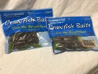 Lot Of 12 Total. 4 Crawfish Bait. Watermelon Seed W/ Red Flake. Free Ship