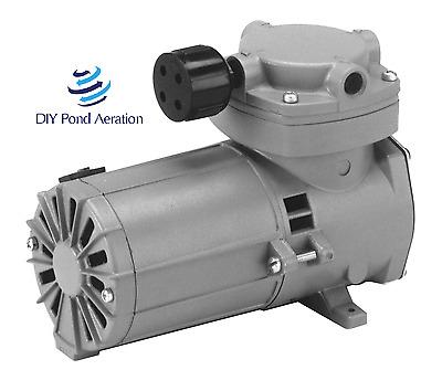 2 CFM Flow! Aeration PUMP  12 Volt DC 7 amp Details about  /12VDC Thomas SOLAR Pond Aerator