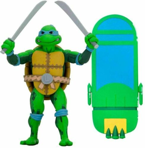 "NECA TMNT Turtles in Time Series 1 Leonardo 7/"" Scale Action Figure BNIB"