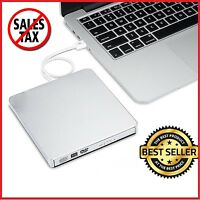 External Dvd Drive Portable Combo Player Cd-rw Burner Usb 2 For Windows 7 8 10